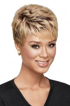 Chestnut Pretty Cosplay Womens Short Hair Wig