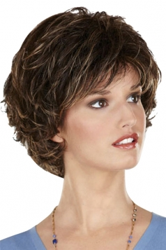 Brown Pretty Fashion Cosplay Ladies Short Hair Wig