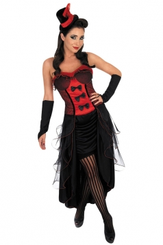 Red Sexy Adult Alice In Wonderland Fairytale Costume
