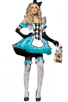 Blue Adult Off Shoulder Fairytale Costume