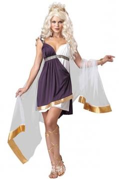 Womens Egyptian Roman and Greek Goddess Costume White