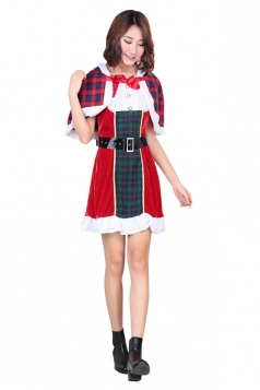 Womens Animation Lovelive Toujou Nozomi Christmas Cosplay Costume Red