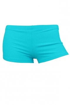 Womens Sexy Plain Plus Size Swimsuit Bottom Turquoise