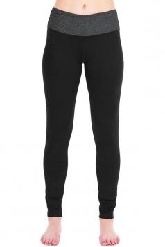 Womens Slimming High Waist Yoga Workout Sports Leggings Black