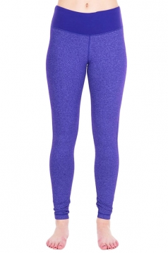 Womens Slimming High Waist Yoga Workout Sports Leggings Purple