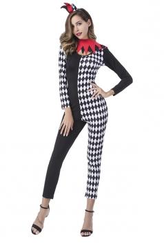 Argyle Harley Quinn Bodysuit Halloween Costume