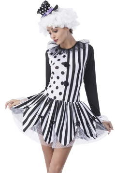 Polka Dot Circus Halloween Costume