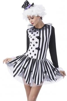 Polka Dot Circus Halloween Costume