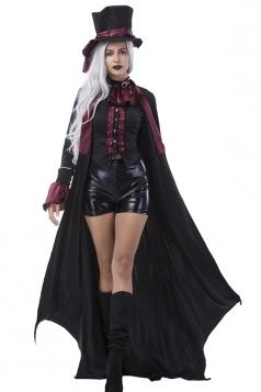 Black Vampire Costume Set