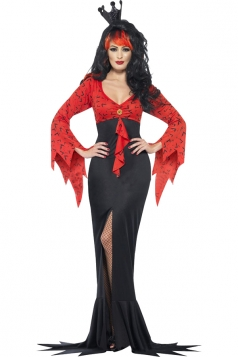 Evil Queen Vampire Vampiress Dress Halloween Costumes