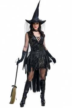 Glamorous Sequin Witch Costume