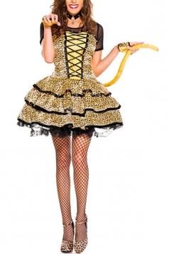 Sexy Cheeky Cheetah Costume