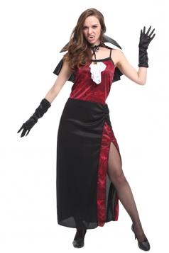 Women Sexy Vampire Halloween Costume Ruby