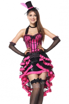 Sexy Mad Hatter Halloween Costume Alice In Wonderland Costume Rose Red