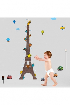 Cute Kids Bedrooms Decorate Cars Eiffel Tower Wall Decal