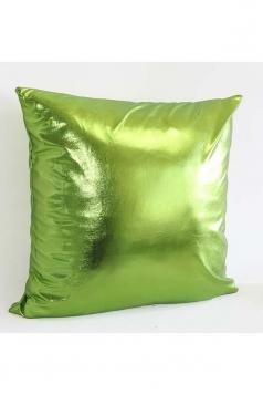 Stylish Homey Liquid Plain Throw Pillow Cover Light Green 18x18in