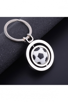 Two Hoops World Cup Souvenir Collection Rotating Football Keyring