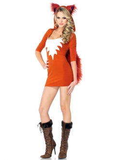 Adult Sexy Foxy Roxy Halloween Costume