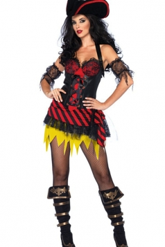 Halloween Caribbean Pirate Costume For Women