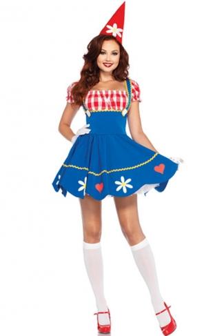 Deluxe Queen of Hearts Halloween Fairytale Costume
