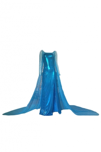 Turquoise Sexy Adult Ladies Frozen Elsa Halloween Fairytale Costume