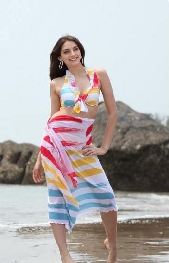 Rainbow Sarong Swimwear
