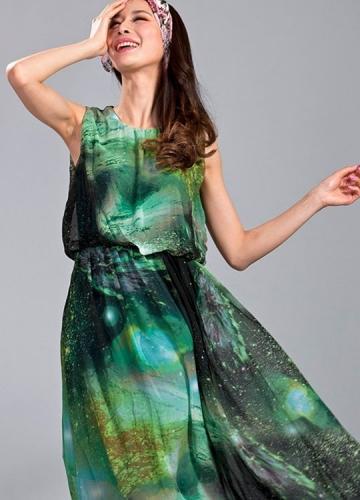 Galaxy Sleeveless Dress