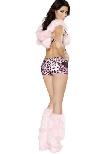 Exclusive Pink Sexy Cat Leopard Halloween Costume