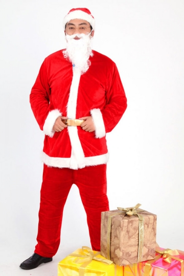 40.46$! Funny Gift Giving Santa Clause Suit Costume Men Christmas ...
