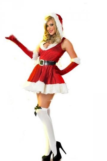 Sexy Classic Red Christmas Santa Costume