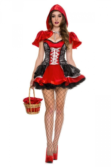 red corset fairytale halloween costume - Corsets Halloween Costumes