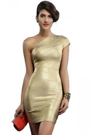 Single Shoulder Dress