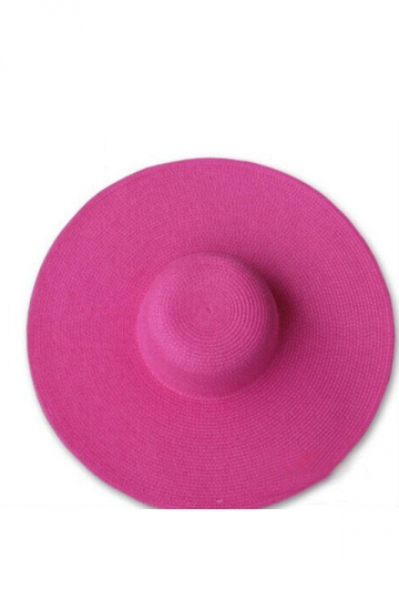 Fabulous Womens Solid Color Straw Hat