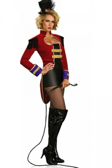 Cool Womens Tamers Circus Halloween Costume - PINK QUEEN