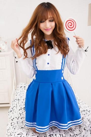 cute school girls sailor halloween costume - Cute Halloween Costumes For School