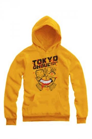 Personalized Ladies Long Sleeves Pullover Tokyo Ghoul Printed Hoody
