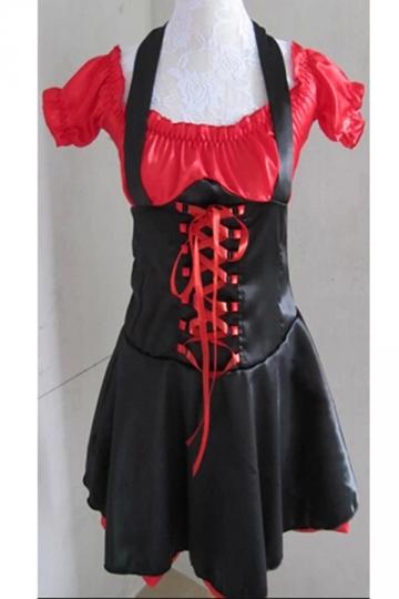 Black Sexy Female Pirate Halloween Costume