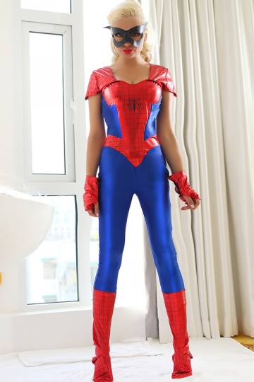 Halloween Super Woman Superhero Costume