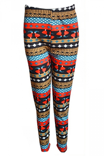 Black Sexy Ladies Thick Christmas Elf Lined Sweater Leggings
