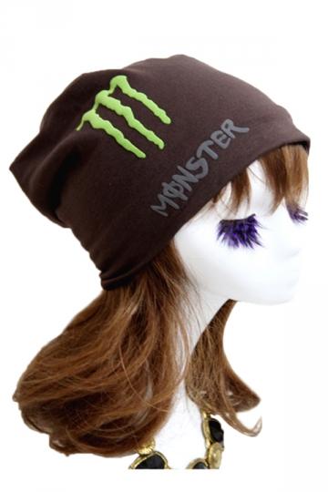 Coffee Trendy Womens Lined Hip-pop Hat Fluorescence Cap Hat
