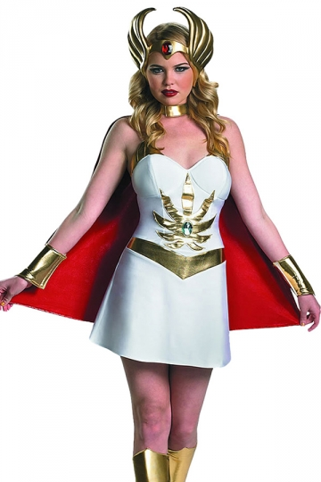 White Cosplay Cool Sexy Womens Halloween Superhero Costume