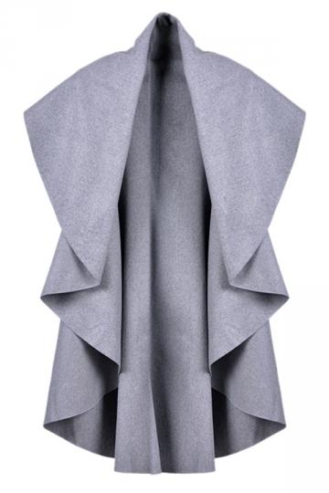 Light Gray Irregularly Pretty Fashion Womens Vest