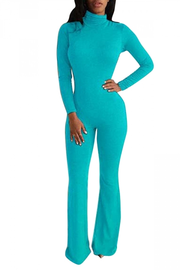 Model Indah Maroc Palazzo Jumpsuit In Turquoise  REVOLVE