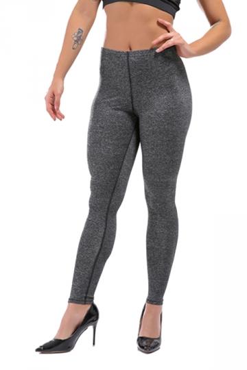 Womens Sexy Skinny Ankle Length Plain High Waisted Leggings Dark Gray