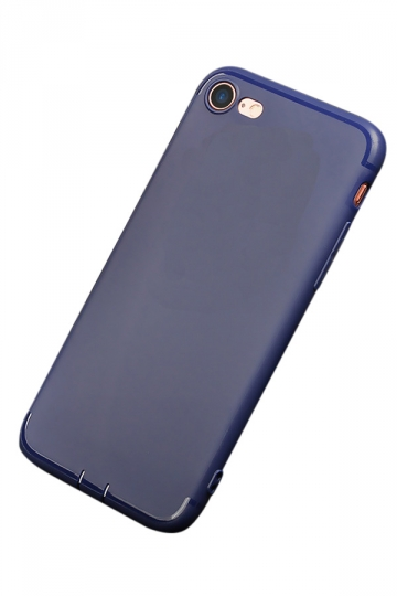 Blue Ultra Thin Frosted Durable Soft Case for iPhone