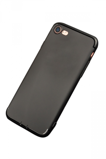 Black Ultra Thin Frosted Durable Soft Case for iPhone