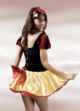 Deluxe Halloween Fairytale Snow White Costume