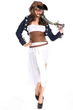 Sexy Military Halloween Pirate Costume