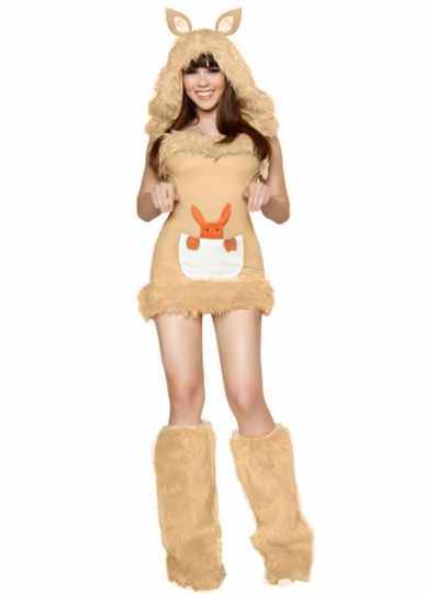Womens Kangaroo Halloween Costume