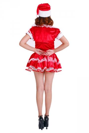 24 99 mini wraped top pleated womens santa